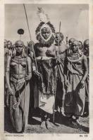 Masai dancers