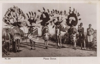 =[PP20B3]= Masai Dance - Dated 1907 - BY: C. D. Patel & Sons, Photographers Mombasa -Series #228 - 1900s -
