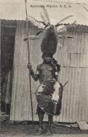 Kavirondo Warrior. B.E.A.