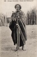 Afrique Orientale - Vieux chef Kikuyu
