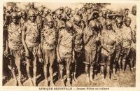 Afrique Orientale - Jeunes Filles en toilette
