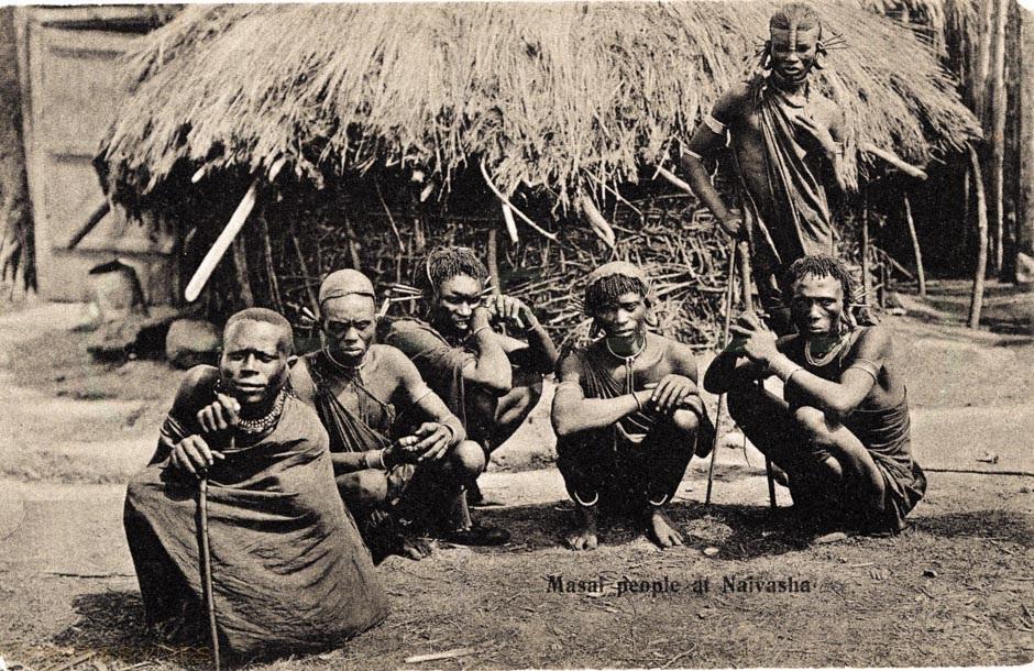 Masai people at Naivasha