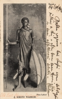 A Kikuyu Warrior