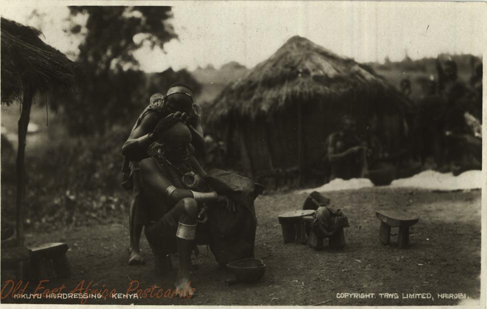Kikuyu Hairdressing, Kenya