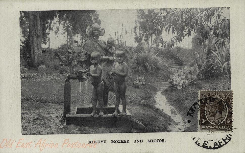 Kikuyu Mother and Mtotos