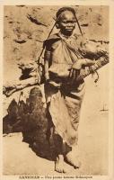 ZANZIBAR - Une jeune femme Kikouyou