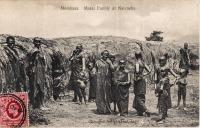 Mombasa. Masai family at Naivasha