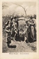 Massai-Gruppe DeutshOst-Afrika