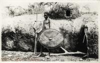 nil (Masai Moran in front of a manyatta)