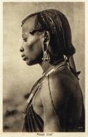 Massai chief