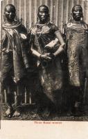 Three Masai Women