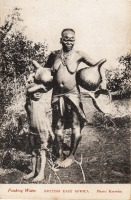 Fetching water BRITISH EAST AFRICA