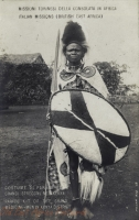 Parade kit of the Grand Medecine-Men in Kenya District