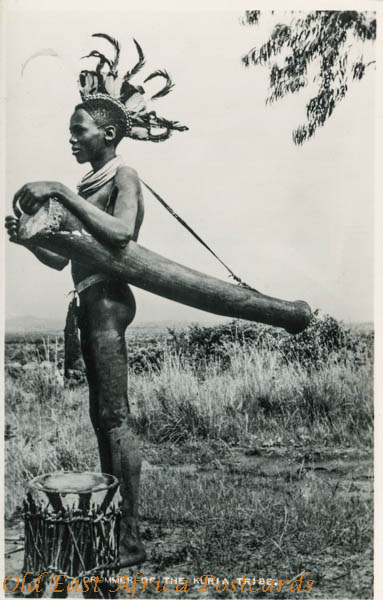 Drummer in the Kuria tribe