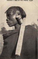 Kenya - Man of the Meru Tribe