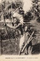 Un chasseur de gazelle