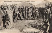 En tenue de cérémonie