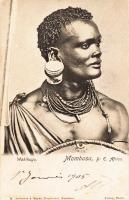 Wakikuyu. Mombasa, B.E.A.
