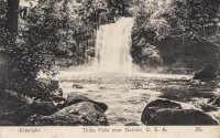 Thika Falls near Nairobi B.E.A.