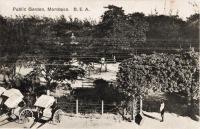 Public Garden. Mombasa B.E.A.
