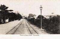 Road to Grand Hotel. Mombassa.