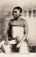 Swahili woman ready for their Dance. Mombassa
