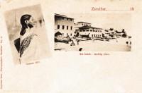 Comoro girl + Sea beach - landing place