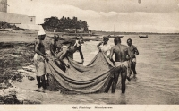 Net Fishing. Mombassa