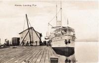 Kisumu landing pier