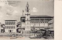 =[ZA34E2]= H.H. the Sultan s Palace before the bombardment. Zanzibar - BY: Pereira De Lord, Photo Artist, Zanzibar -1900s -
