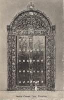 Arabic carved Door, Zanzibar