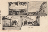 Donkeys + M.M. and French Post Offices + The Largest Gate + Native Infantry