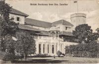 British Residency from Sea. Zanzibar