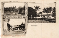 English Church Street + Market + Recreation Bungalow, Prison Island