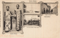Zanzibar Women + Electric Lighthouse and H.H. Palace + H.H. the Sultan s Body-guard + Water Carriers