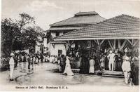 Baraza at Jubilee Hall. Mombasa B.E.A.