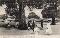 Earthen pots at a Native selling Place. Mombasa B.E.A.