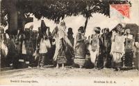 Swahilli Dancing Girls. Mombasa B.E.A.