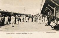 Uganda Railway Terminus, Mombasa B.E.A.