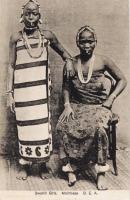 Swahili girls. Mombasa B.E.A.