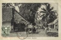 Native Street. Zanzibar