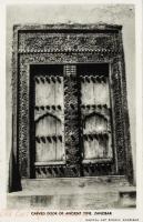 An old Arab Carved Door