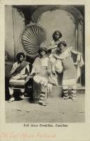 Full dress Swahilies