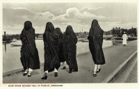 How Arab Women veil in public
