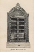 Zanzibar Arab Carved Door