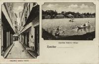 Zanzibar narrow street + Zanzibar Native Village