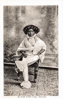 An Arab turban lady, Zanzibar