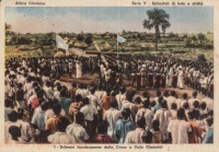 Solenne innalzamento delle Croce a Gulu (Uganda)
