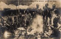 Akikuyu superstitions - Chief Karoli attends a sacrifice