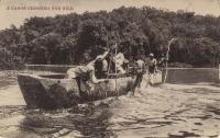 A Canoe Crossing the Nile